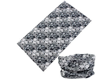 Black White Simple Design UV  Headwear 25*50 CM Polyester Scarf