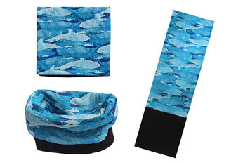 Fishing Winter Polar  Headwearcomfortable 24 * 75 CM With Fleece Neck Warmer