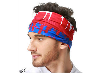 Soft Absorbent Tube  Multifunctional Headwear Sublimation Printing Polyester