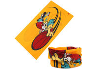 Cartoon Design Toddler Neck Gaiter , Super Absorbent Children'S Neck Warmer