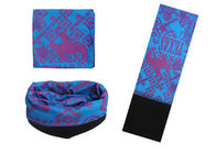 Brilliant Color  Mit Fleece , Seamless Connect Ski  Headwear Absorb Sweat