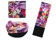 China Purple Pattern  Multifunktionstuch Polar , Breathable  Polar Neckwarmer factory