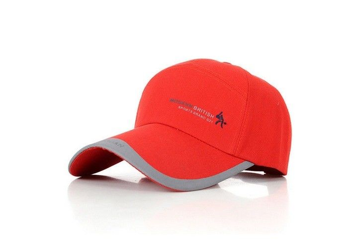 Spring   Summer Red Canvas Baseball Cap For Men   Women Extremely Durable  Anti - Rust ae0874238dcf