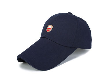 China Dark Blue Canvas Baseball Cap Color Optional For All Seasons Outdoor Activities factory