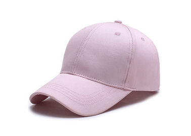 China Light Pink Trendy Baseball Caps , Fashion Style American Needle Washed Canvas Baseball Hat factory