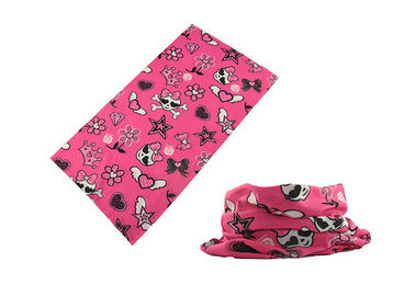 China Comfortable Skull Children'S Neck Gaiter , Junior  Headwear Sublimation Printing factory