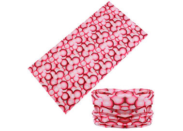 China Pink Women Neck Warmer  , Good Flexibility  Original Multifunctional Headwear factory