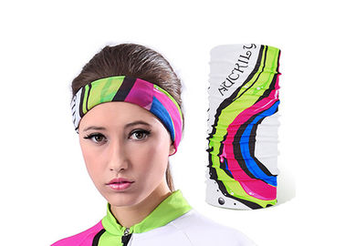 China Fitness  Neck Tube 100% Microfiber Polyester , Motorbike Multi Purpose Bandana distributor